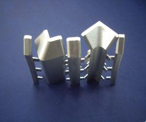 Дясна тапа за алуминиев перваз